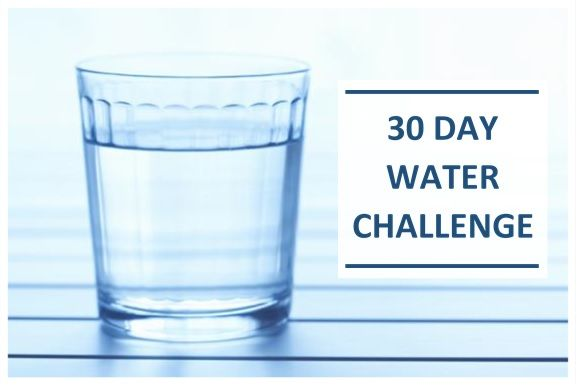 30 Days No Sugar Drink Challenge
